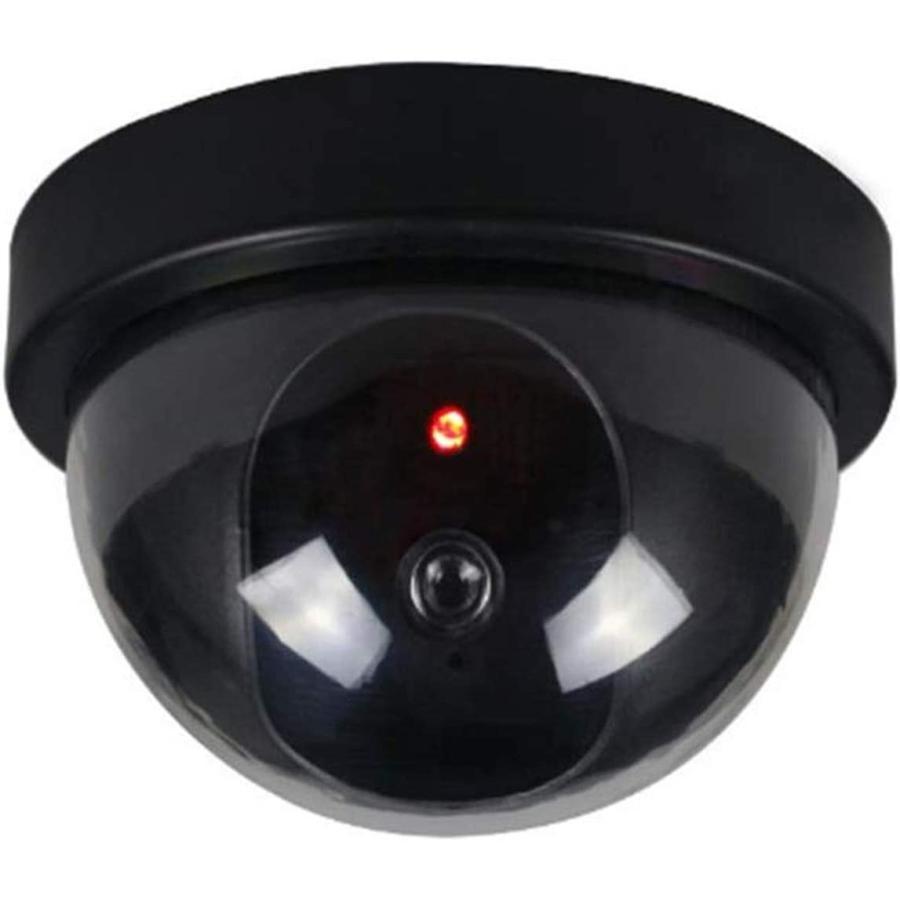 送料390円 ドーム型ダミーカメラ LED点灯 防犯カメラ オフィスや店舗にも|isozaki-store