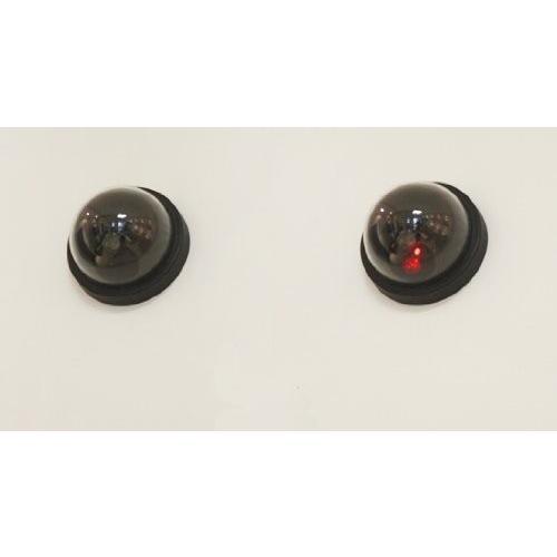 送料390円 ドーム型ダミーカメラ LED点灯 防犯カメラ オフィスや店舗にも|isozaki-store|02