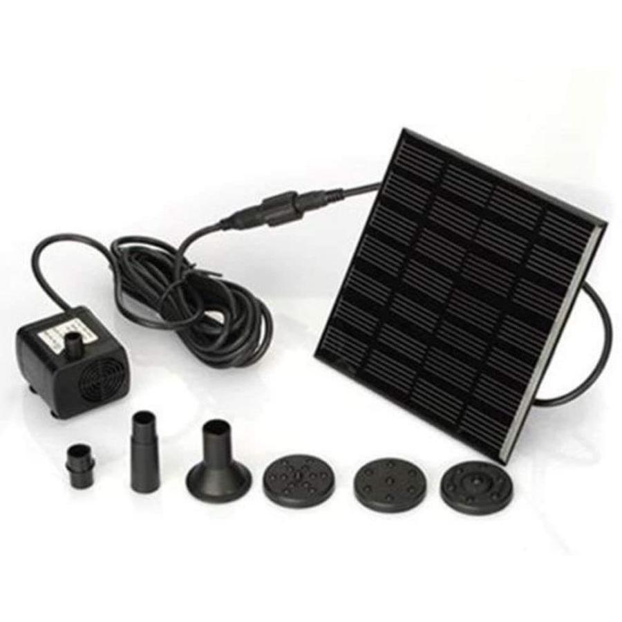 送料590円 ソーラー 噴水  ソーラー 池 ポンプ 庭の噴水用 省エネ 池でも使えるポンプ 太陽光 自動|isozaki-store|04