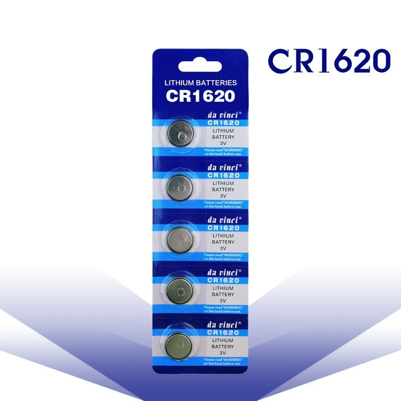 CR1620 売れ筋 高性能品質 5個セット ボタン電池 おトク リチウムコイン電池