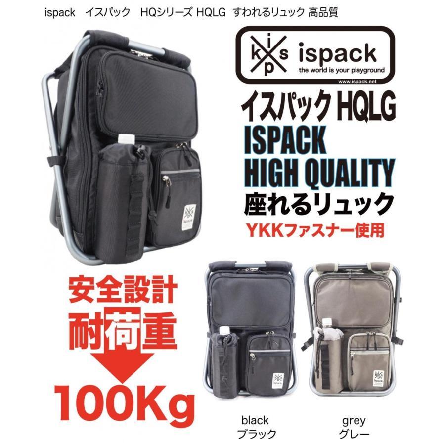 ispack イスパック HQLG GRAY グレー HQ-LG02 ispack 02