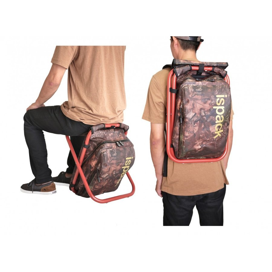 イスパック アドベンチャー イス リュック 座れる 防水 便利 イス付きリュック 座れるリュック ispack 06
