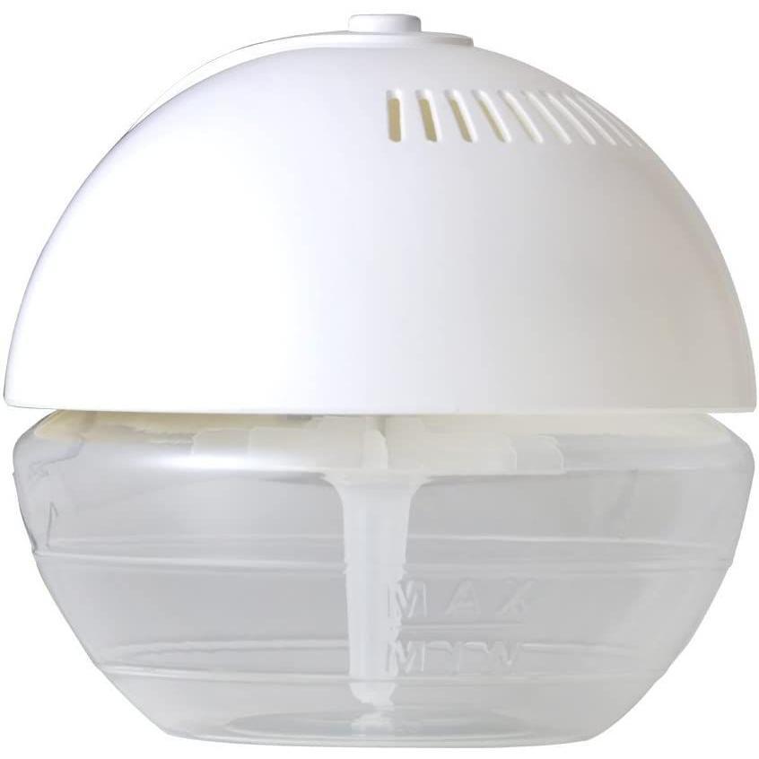 SIS 空気清浄加湿器 遠心式 アロマ LEDライト 12~18畳対応 420ml 10W 16時間連続運転 大口タンク ホワイト|issinya|03