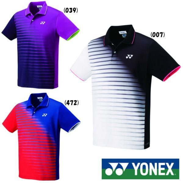 《送料無料》2019年5月中旬発売 YONEX ユニセックス ゲームシャツ(フィットスタイル) 10313 ヨネックス テニス バドミントン ウェア