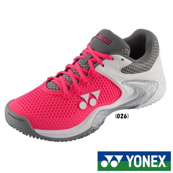 《送料無料》《新色》2018年11月下旬発売 YONEX レディース パワークッション エクリプション2LGC SHTE2LGC テニスシューズ クレー・砂入り人工芝用
