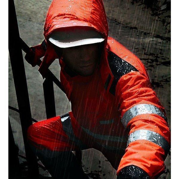 最高レベル反射材付き高視認性防水防寒コート【ナイトナイト NIGHT KNIGHT】作業服 作業着 防寒着【タカヤ商事】【3L/5L対応】