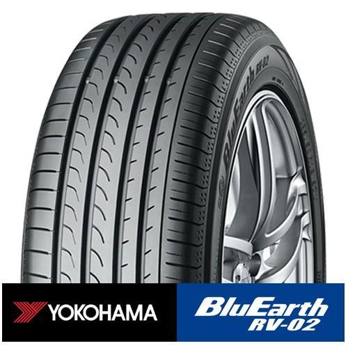 新品 4本 YOKOHAMA RV02 ヨコハマ 販売実績No.1 ブルーアース 205 タイヤ単品 92H 選択 60R16 RV-02