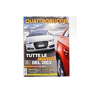 メーカー直売 贈与 Quattroruote 2013年1月号