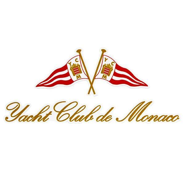待望 Yacht Club Monacoエンブレムステッカー メイルオーダー de