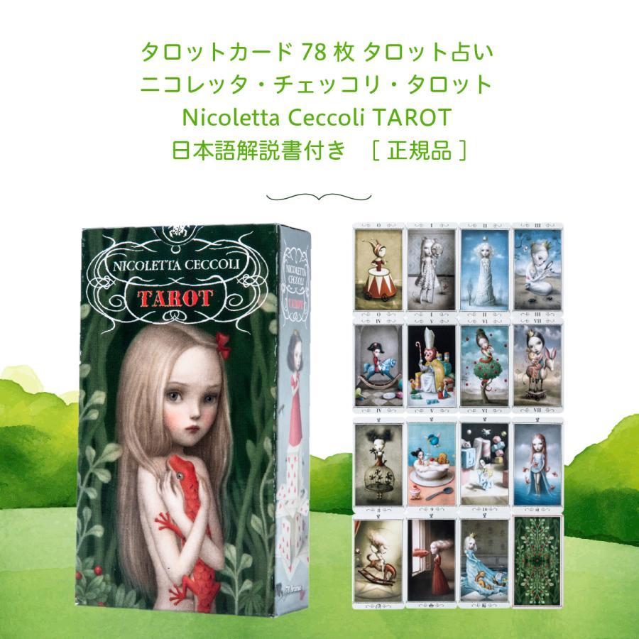 タロットカード 78枚 タロット占い ニコレッタ・チェッコリ・タロット Nicoletta Ceccoli TAROT 日本語解説書付き|item-island-jp2|03