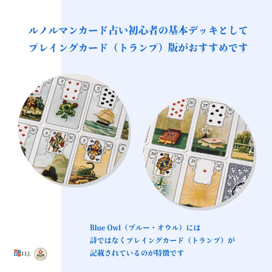 ルノルマンカード ブルーオウル・ルノルマン 日本語解説書付き item-island-jp2 04