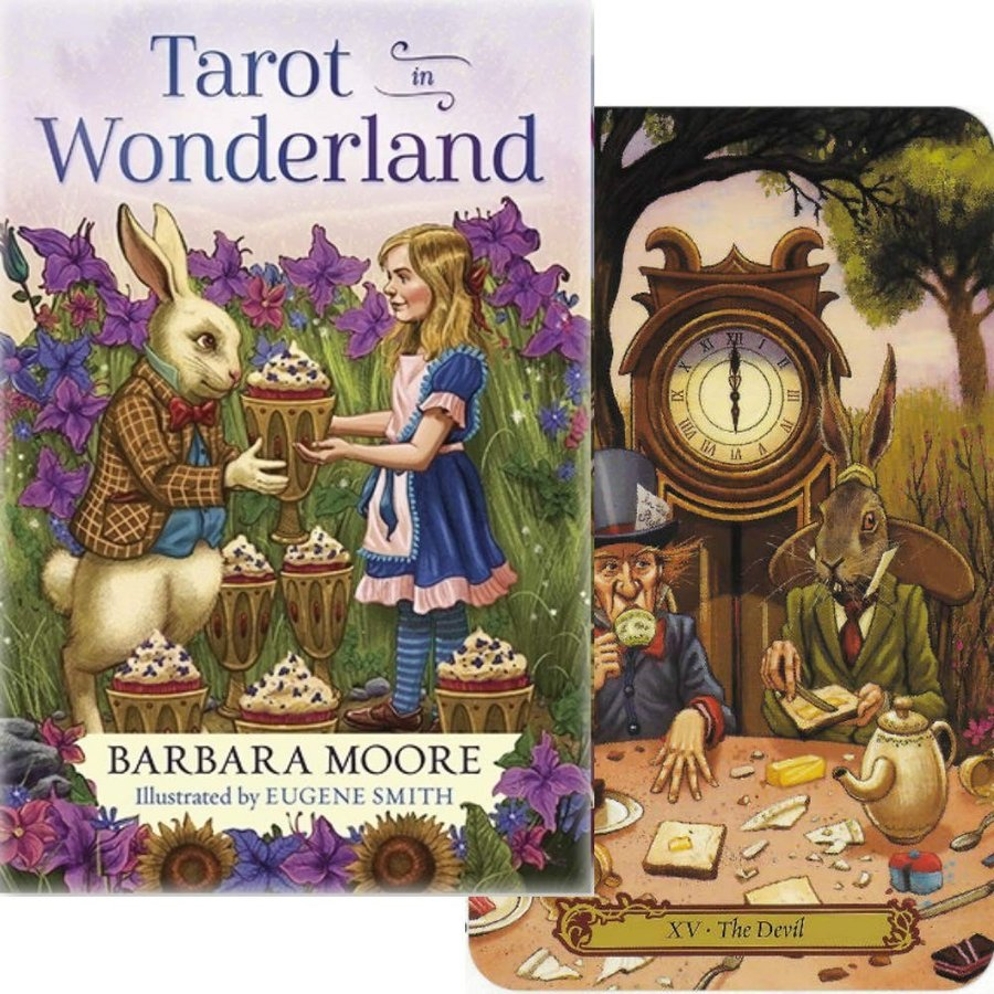格安 価格でご提供いたします タロットカード 78枚 特価キャンペーン ライダー版 タロット占い タロット イン Wonderland Tarot 日本語解説書付き ワンダーランド in