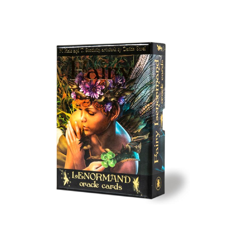 ルノルマン オラクルカード 占い 妖精 フェアリー Lenormand Cards Fairy Oracle 流行 豊富な品 日本語解説書付き