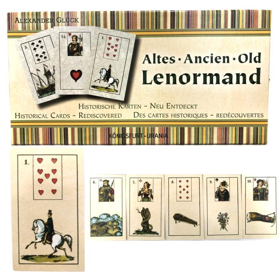 ルノルマン オラクルカード 占い オールド・ノルマン Old Lenormand 日本語解説書付き item-island-jp2