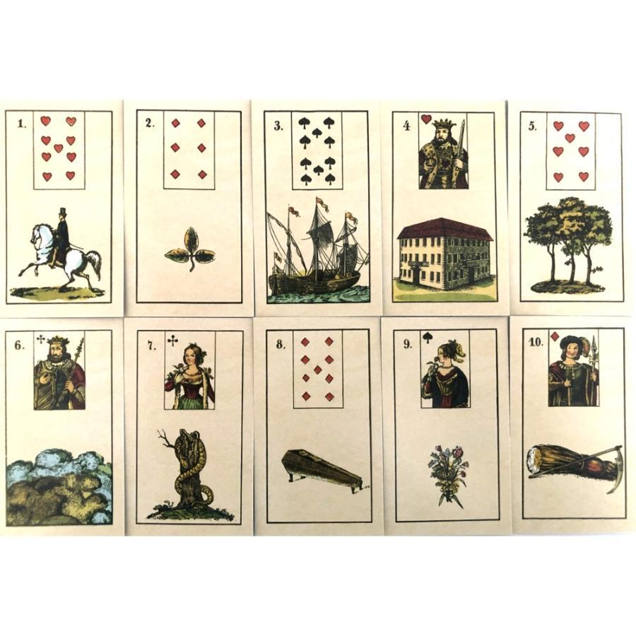 ルノルマン オラクルカード 占い オールド・ノルマン Old Lenormand 日本語解説書付き item-island-jp2 02