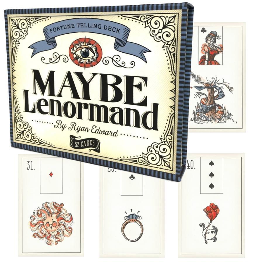 ルノルマン オラクルカード 占い メイビー ルノルマン MAYBE Lenormand 日本語解説書付き|item-island-jp2