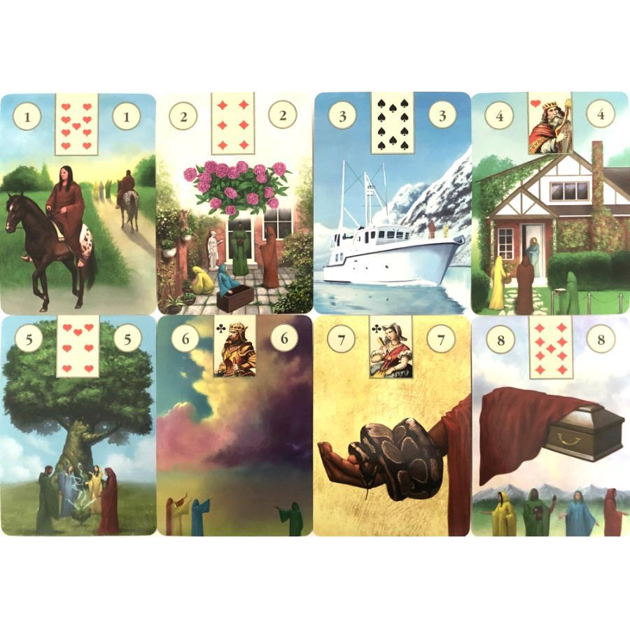 ルノルマン オラクル カード 占い  ペイガン ルノルマン オラクル カード Pagan Lenormand Oracle Cards  日本語解説書付き|item-island-jp2|02