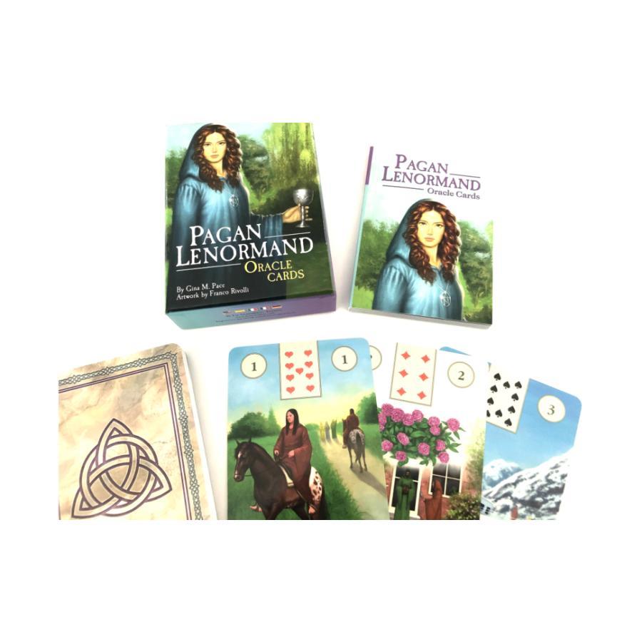 ルノルマン オラクル カード 占い  ペイガン ルノルマン オラクル カード Pagan Lenormand Oracle Cards  日本語解説書付き|item-island-jp2|04