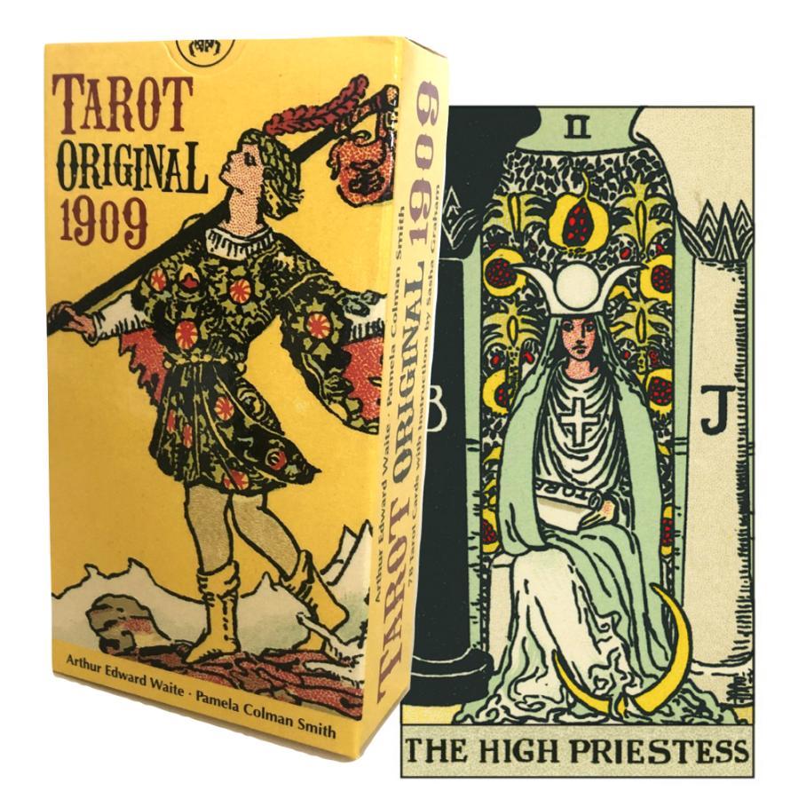 タロットカード 78枚 ウェイト版 タロット占い タロット 新作 人気 Tarot 1909 Original オリジナル 贈答品 日本語解説書付き