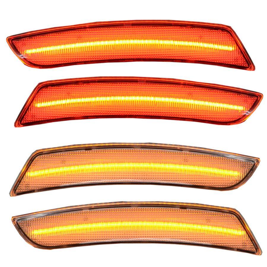 LL-GM-SMB-CR01 クリアレンズ LEDフロント&リアサイドマーカーChevrolet Camaro カマロ(6代目 2016-2018)