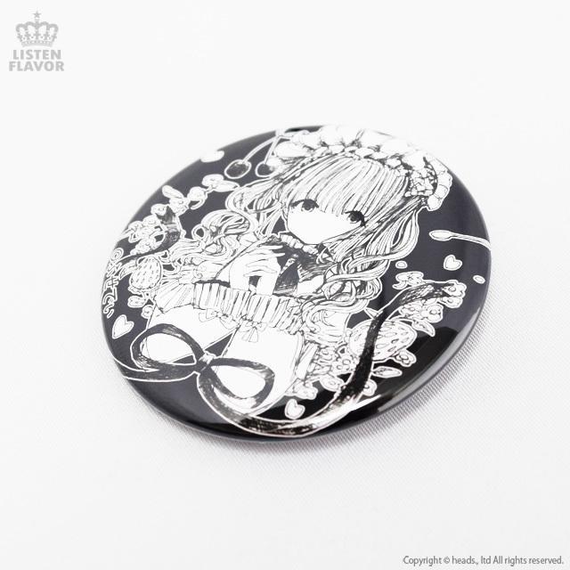 ロリィタティータイムコラボ缶バッジ (57mm) / LISTEN FLAVOR×ふせでぃ  itempost 03
