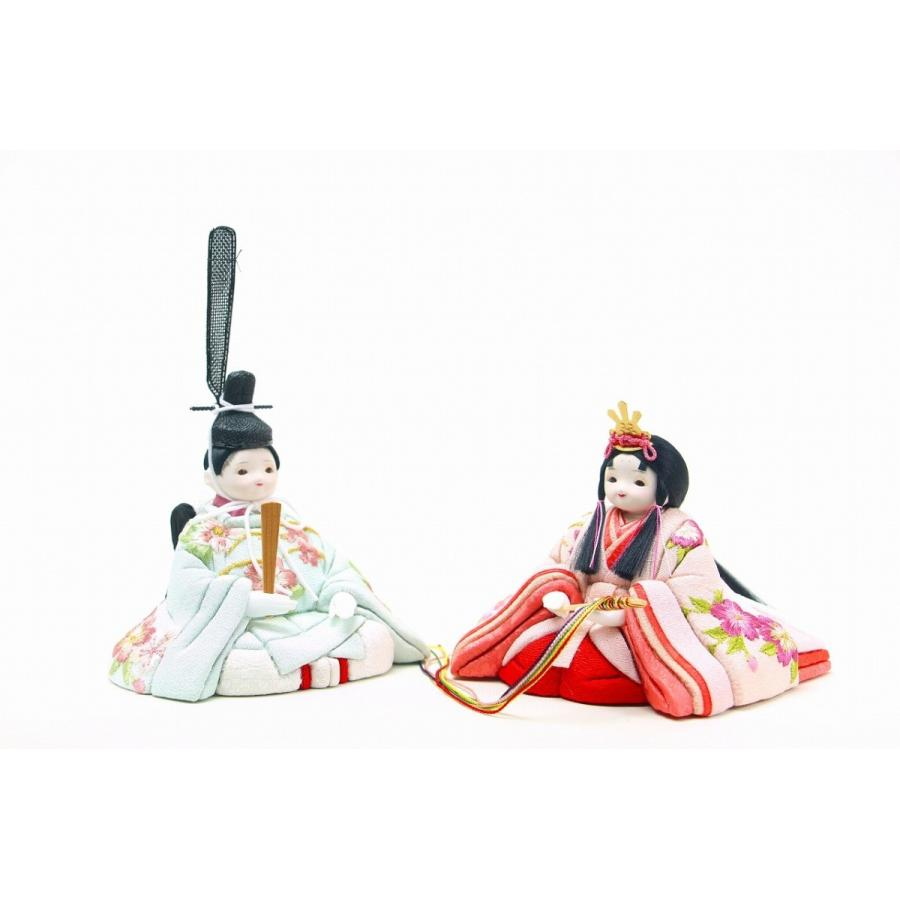 かわいい 小さな お雛様 rico琴(こと) 木目込み十人飾り