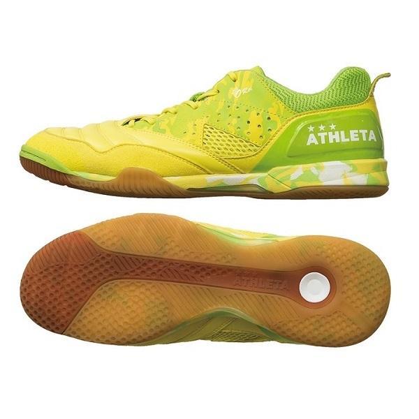 【10%OFF】11004 ATHLETA(アスレタ) O-Rei Futsal Rodrigo(2938F.黄/F.Lime)(ロドリゴモデル)(インドア、人工芝用フットサルシューズ)【送料無料】