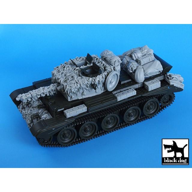 ブラックドッグ T35023 1/35 イギリス クロムウェル戦車 麻布テープ・カモフラージュネット