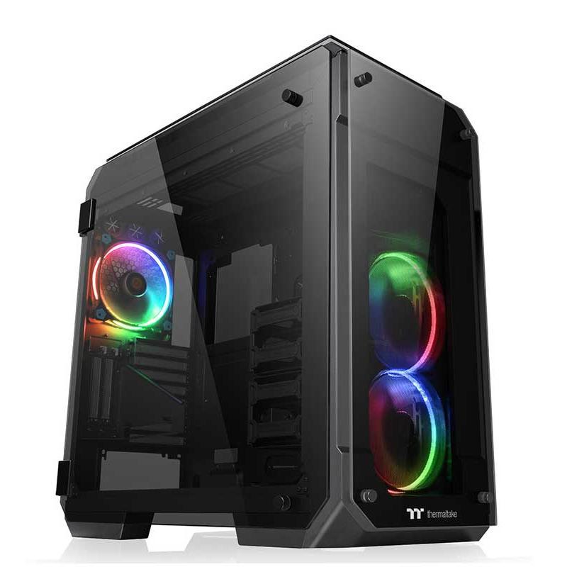 Thermaltake VIEW 71 TG RGB 4面強化ガラスパネルを搭載PCケース|CA-1I7-00F1WN-01|itempost