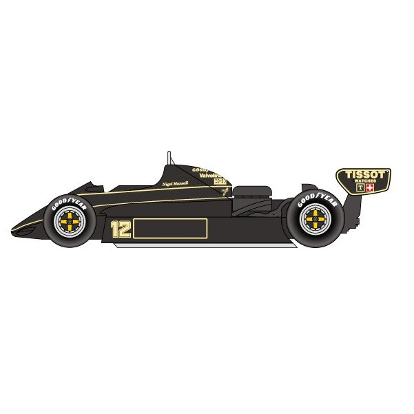 1/20 Team Lotus 91 American GP 1982STUDIO27 【Multimedia Kit】