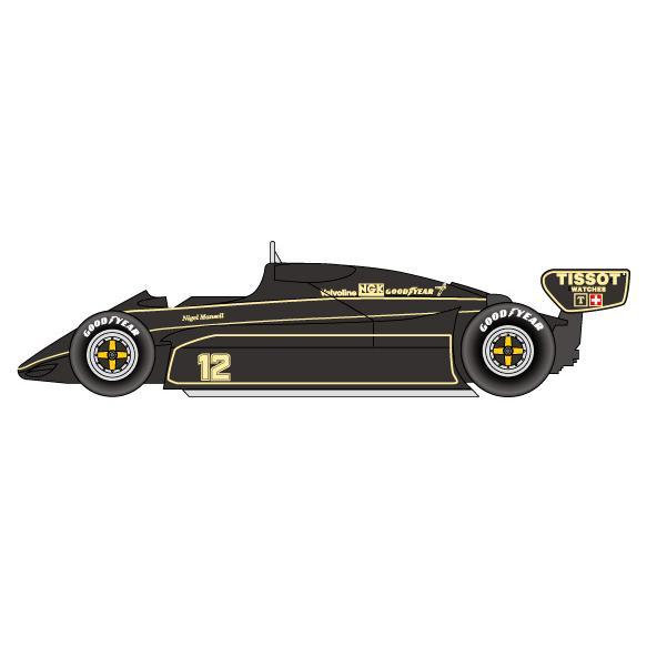 1/20 Team Lotus 91 Brazilian GP 1982STUDIO27 【Multimedia Kit】