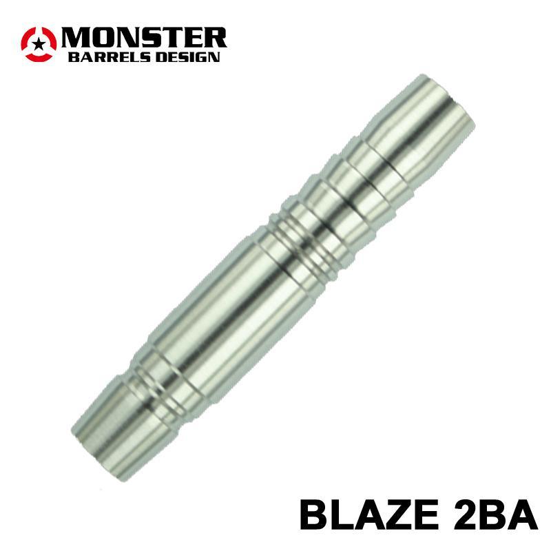【ラバーコースター購入特典付き】 MONSTER DARTS【モンスターダーツ】 ザ ワークス80 ブレイズ (BLAZE Tungsten80%) | ダーツ 2BAバレル 16.5g