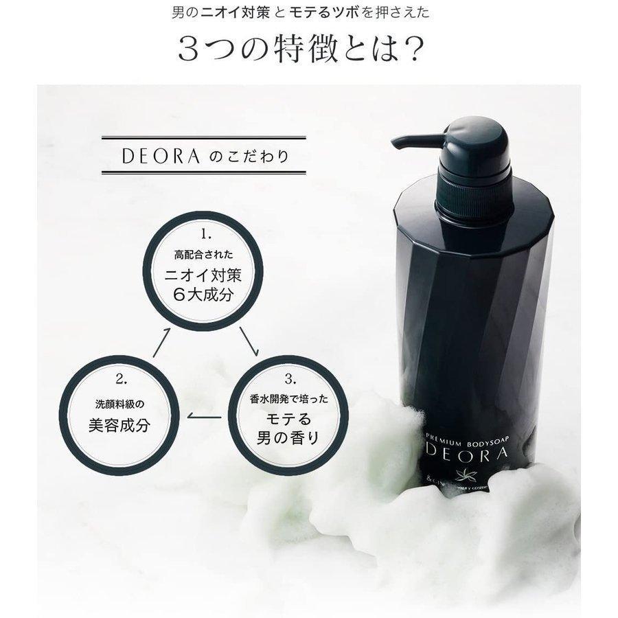 &GINO プレミアムボディーソープ デオラ 480ml 加齢臭 対策 ボディソープ|itigoitie-honpo|07