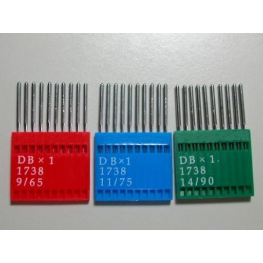 メール便発送可 工業用ミシン針DB×1 10本セット 日本 卓出