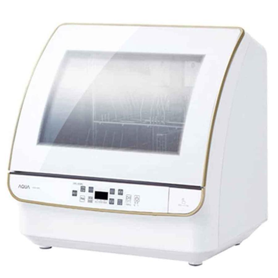 アクア 食器洗い機 送風乾燥機能付き ADW-GM3-W ホワイト 直営ストア 流行