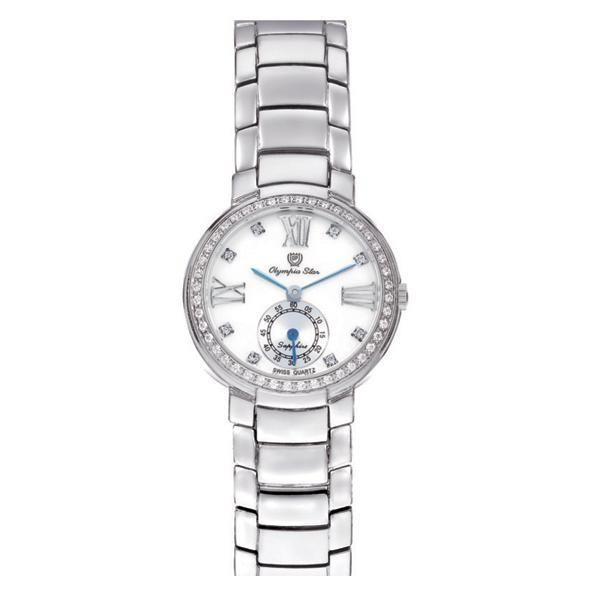 代引き手数料無料 OLYMPIA STAR(オリンピア スター) レディース 腕時計 OP-28012DLS-3, alisa c168f483