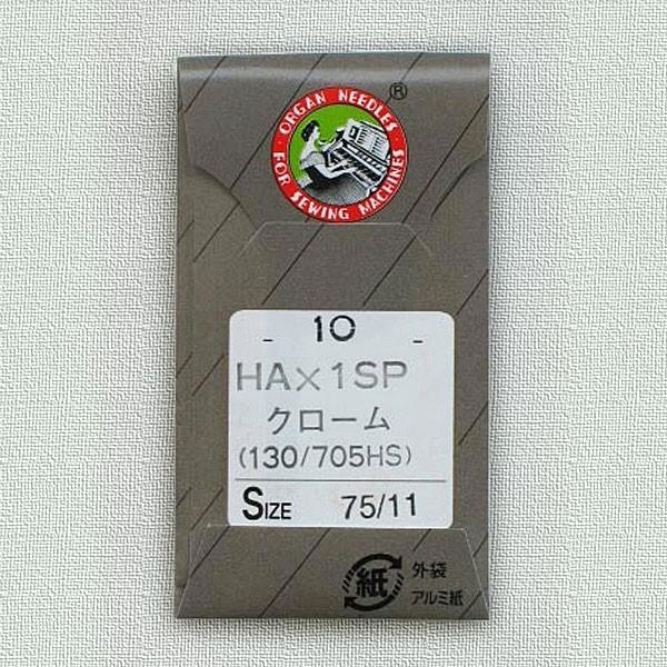 オルガン 入荷予定 家庭用ミシン針 HA×1SP 10本入 クロームメッキ WEB限定 CR