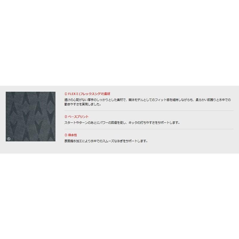 SPEEDO (スピード) SD74C05 FLEX Σ(フレックス シグマ) メンズ 競泳水着 FINA承認 LサイズOサイズ メール便対応|itspo|03