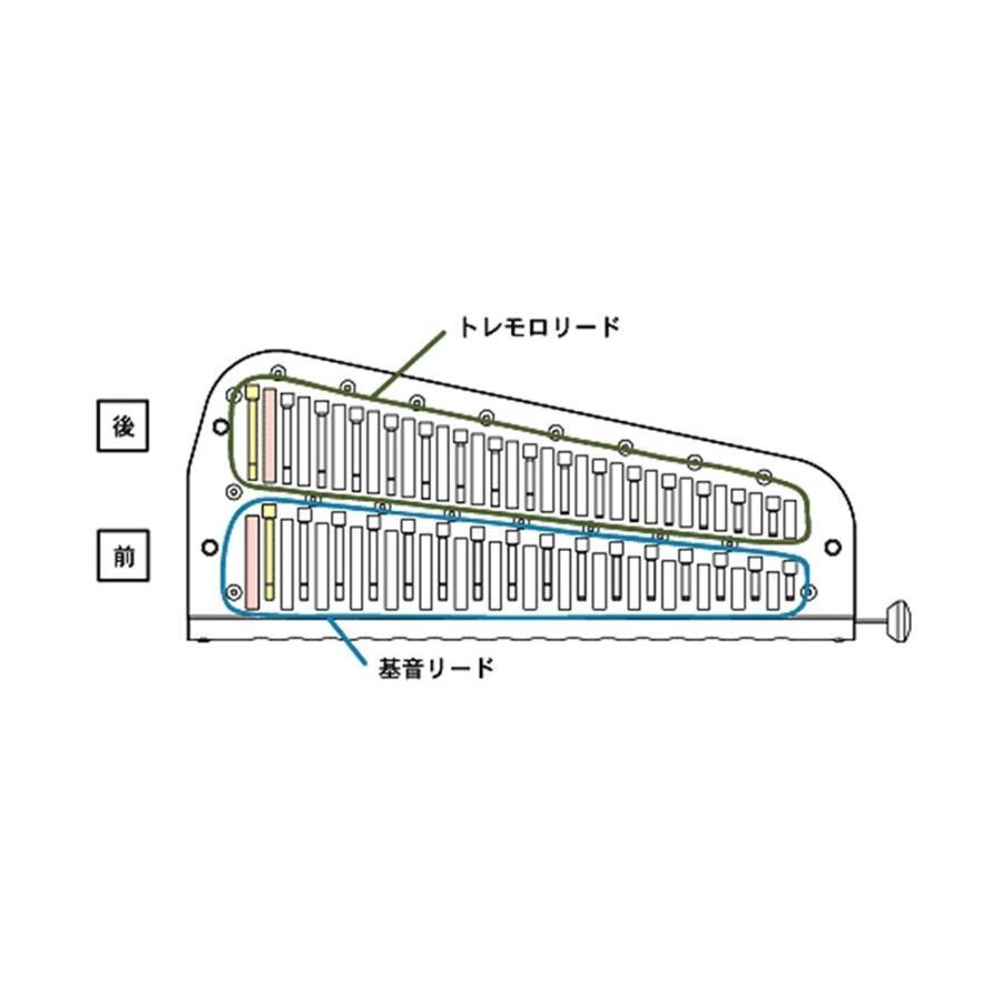 SUZUKI スズキ トレモロクロマチックハーモニカ SCT-128
