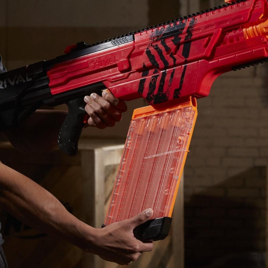 ナーフ Nerf Rival Khaos MXVI-4000 Blaster 赤 ライバル カオス MXVI-4000 レッド 並行輸入