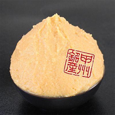 2倍の米麹が作り出す素晴らしい味と香り!甘口・減塩タイプ本格手造り「こうじ井筒味噌」|itutuya