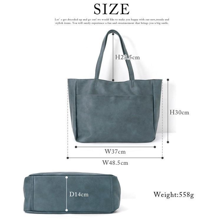 トートバッグ トート レディース マザーズバッグ 多収納 通勤 通学 鞄 大容量 A4 フェイクレザー 一部予約 メール便不可 送料無料|ivy-cafe|20