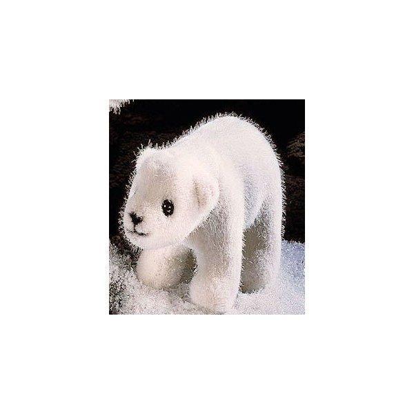 テディベア ぬいぐるみ 白くま(ミニ)歩き KOSEN(ケーセン社) 17cm Polar Bear Cub/クマ/くま/テディベア