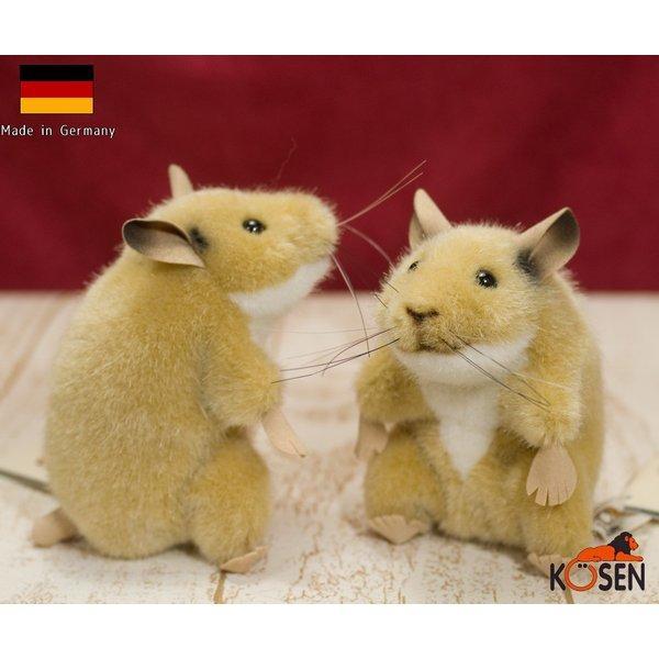 ハムスター 「ベルティ」座り KOSEN(ケーセン社) 11cm Hamster