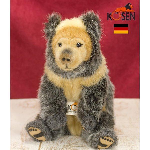 テディベア ぬいぐるみ チベットグマ Tibetan Bear KOSEN(ケーセン社) 23cm/クマ/くま/テディベア