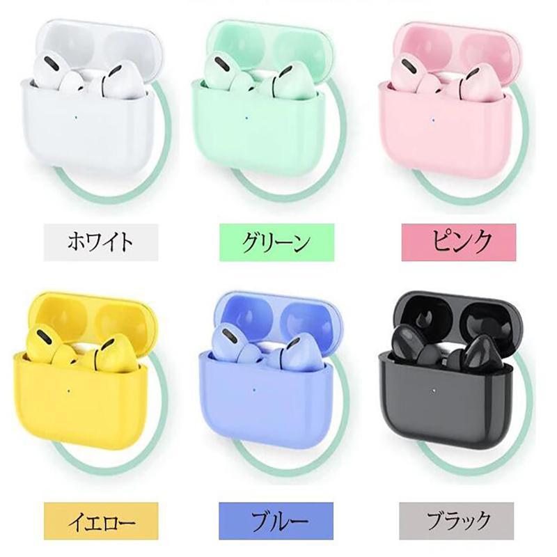翌日発送 2021年新型 ワイヤレスイヤホン Bluetooth5.0 マカロン6色  日本語説明書付き 可愛い  簡単接続  両耳対応 高音質 タッチ操作|iwahira-shoten|06