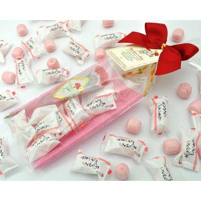 母の日キャンディーパック「ありがとうメッセージ・カーネーション造花付」 iwaiseika