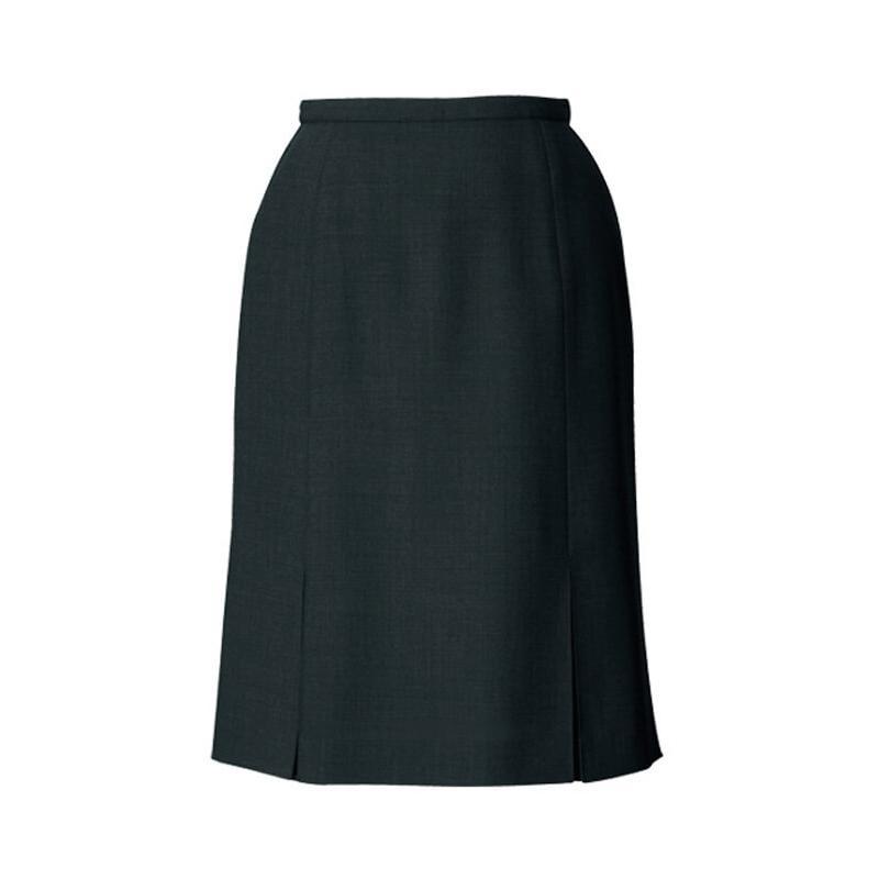 スカート プリーツ グレー ブラック 黒 5号〜23号 制服 オフィス 事務 事務服 企業制服 レディース