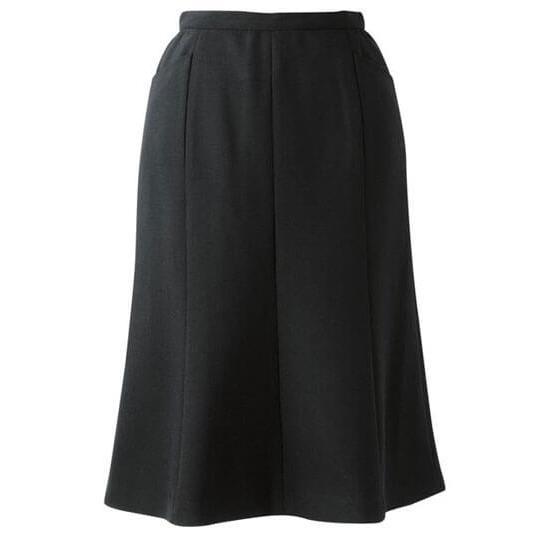 スカート マーメイドライン ブラック 黒 5-23号 制服 オフィス 事務 事務服 企業制服 レディース