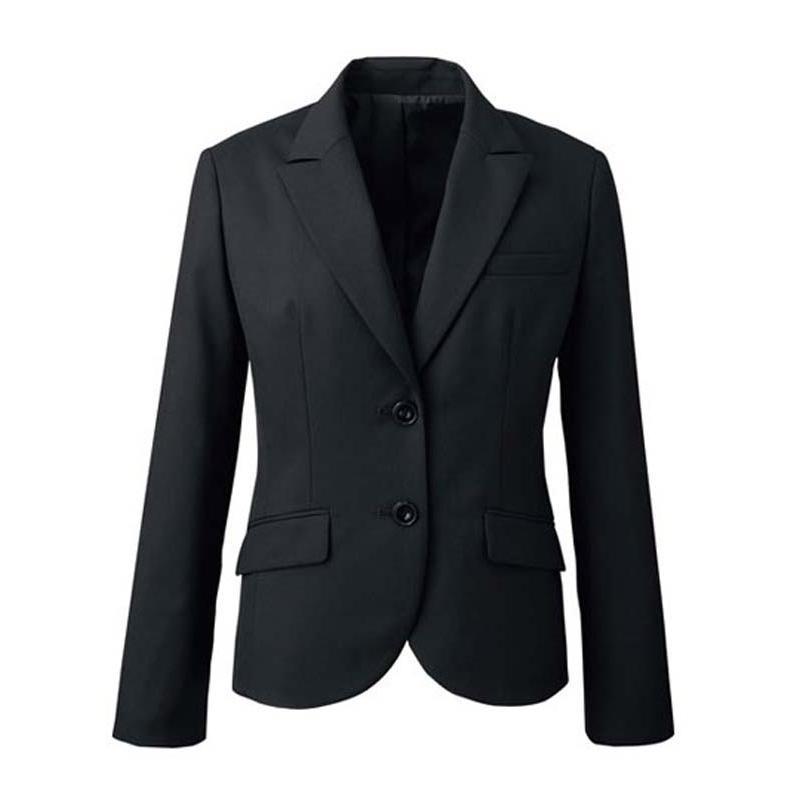 ジャケット ブラック 黒 5-19号 制服 オフィス 事務 事務服 企業制服 レディース オフィスユニフォーム